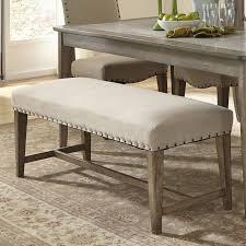 dining loveseats benches sofas with greay velvet upholstered back