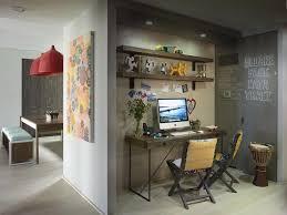 chalkboard backsplash u shape kitchen undermount sink rose gold hanging lamps hexagonal