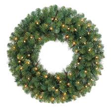 shop for the mixed pine lighted wreath by ashland at