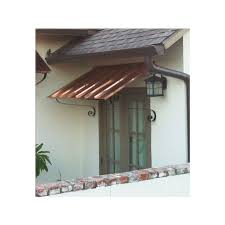 Wall Awning 3 Ft Copper Door Or Window Awning