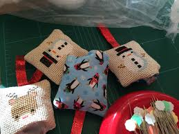 how to make cross stitch christmas ornaments u2014 carrie actually by