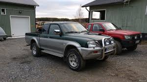 mitsubishi l200 2 5td magnum pickup 2002 used vehicle nettiauto