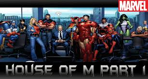 house of m house of m part 1 comic world daily
