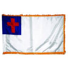 3x5 Foot Flag Christian Indoor Flag Kit Church Flagpole W Flags