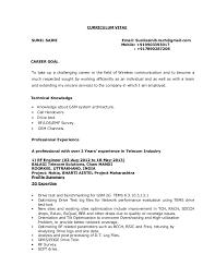 Rf Engineer Resume Sample by Sunil Saini Rf Engineer
