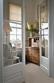home office doors with glass secretary desk fashion south west traditional home office image