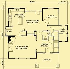small cottages floor plans moss cottage house plan house plans by garrell associates 1000