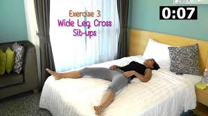 Is Working Out Before Bed Bad 5 Minute Ab Exercises In Bed Youtube