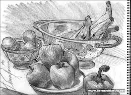 drawing and sketching by artist bernard garcia drawing still