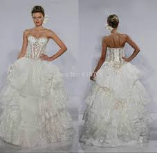 panina wedding dresses prices see through gown wedding dress lace beaded