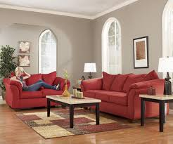 Ashley Sofa Set by Signature Design By Ashley Darcy Salsa Contemporary Sectional