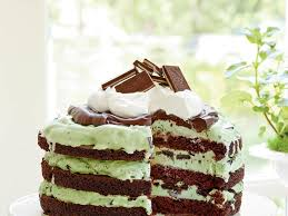download easy mint chocolate chip ice cream cake recipe food photos