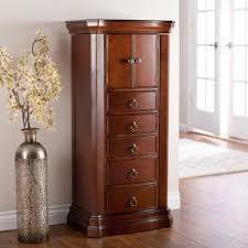 Tall Jewelry Armoire Floor Standing Jewelry Armoire Enter Home Stand Up Mirror