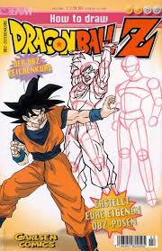 draw dragonball volume comic vine