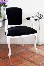 Black Accent Chair Accent Chair Black White French Side Chair Via Etsy Domestic