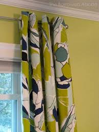 Ikea 98 Inch Curtains Ikea Chartreuse Navy Floral Curtains For The Home Pinterest