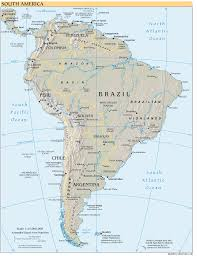 Colombia South America Map by South America Reference Map U2022 Mapsof Net