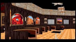 Steak House Interior Design Restaurant Design American Family Restaurant Youtube
