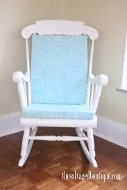 Nursery Room Rocking Chair by Grandpa U0027s Rocking Chair Brightened Up For New Baby Nursery The