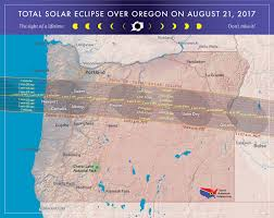 Highway Map Of Oregon by 2017 Total Solar Eclipse In Oregon