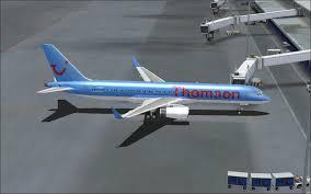 thomson airways boeing 757 200w for fsx