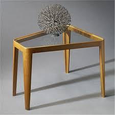 wedge shaped end table edward wormley wedge shaped end table model 4809 dunbar usa c 19