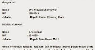 belajar untuk semua indonesiaku pengertian dan contoh surat perintah