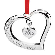 our forevermore ornament 2016 lenox