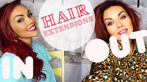 Wedding Hair Extensions Before And After by Taking My Hair Extensions Out U0026 Extension Review Youtube
