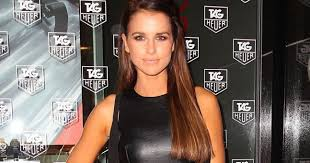 snap hair vogue williams shares snap of hair makeover following marriage
