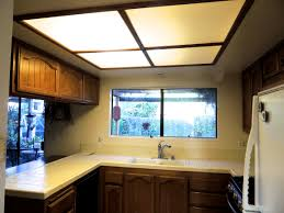 Lights In Kitchen by Kitchen Lighting Replace Fluorescent Light Fixture In Bowl Antique