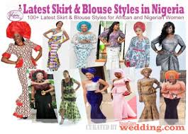 latest skirt and blouse fashion styles pictures u2013 nigerian weddings