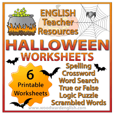 halloween resources for teachers woodward english