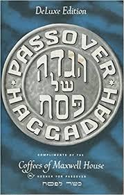 haggadah maxwell house passover haggadah deluxe edition 1965 traditional seder service in