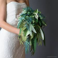 wedding bouquet patterns and tutorials to make paper wedding flowers at home