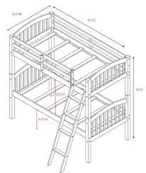 Bunk Bed Drawing Harriet Bee Jaylyn Bunk Bed Reviews Wayfair