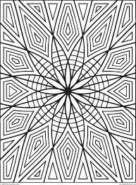 geometric coloring page free printable geometric coloring pages