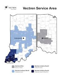 Indiana Michigan Power Outage Map by About Vectren Vectren