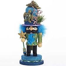 kurt adler nutcracker with sea turtle hat