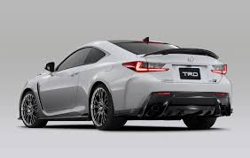 lexus genuine parts uk trd introduces circuit club sports parts for lexus rc f lexus