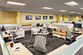 ideal office workspace design with leeco steel open office space