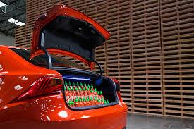 lexus es300h cargo space lexus heats up l a auto show with sriracha is show car motor trend