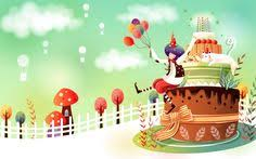 cute fairy birthday wallpapers undefined cute cartoon wallpaper 48 wallpapers adorable