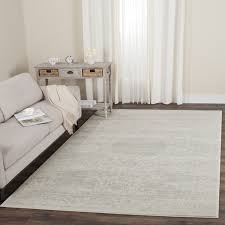 safavieh carnegie vintage cream light grey distressed rug 8 u0027 x
