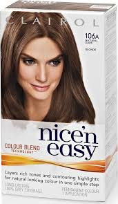 nice n easy hair color chart clairol nice n easy hair colour dark blonde 106a compare prices