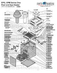 pool heaters teledyne laars series 1 epg 250