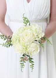 Peonies Bouquet White Peony U0026 Sweet Pea Bouquet Silk Wedding Bouquet Afloral Com