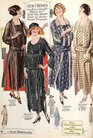 slenderizing fashions for stout women and misses