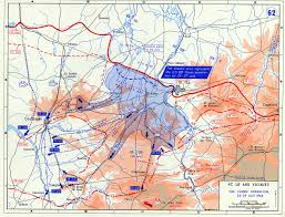 Map Of Northeastern United States by Map Of The Cobra Operation In Northern France July 1944
