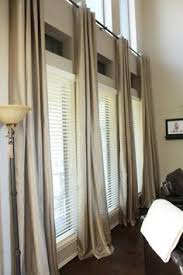 Burlap Looking Curtains I Love The Idea Of White Curtains But I Really Love This Linen